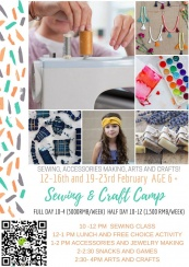 CNY Sewing and Craft Camp
