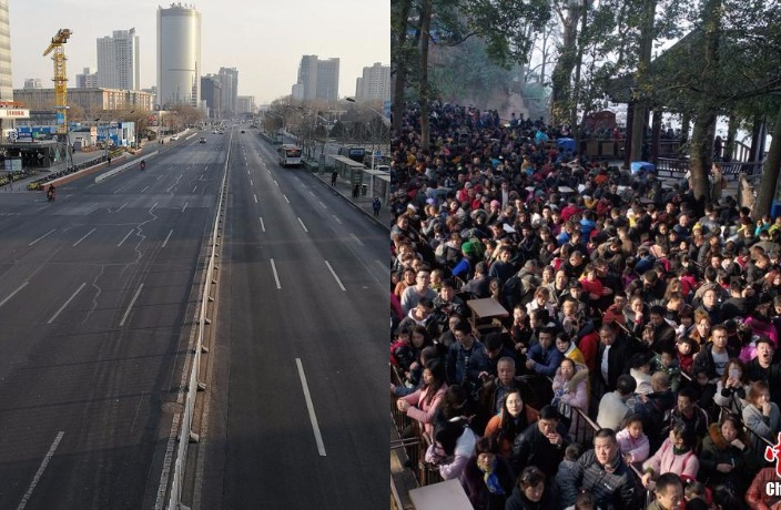 This is What China Looked Like During Spring Festival 2018