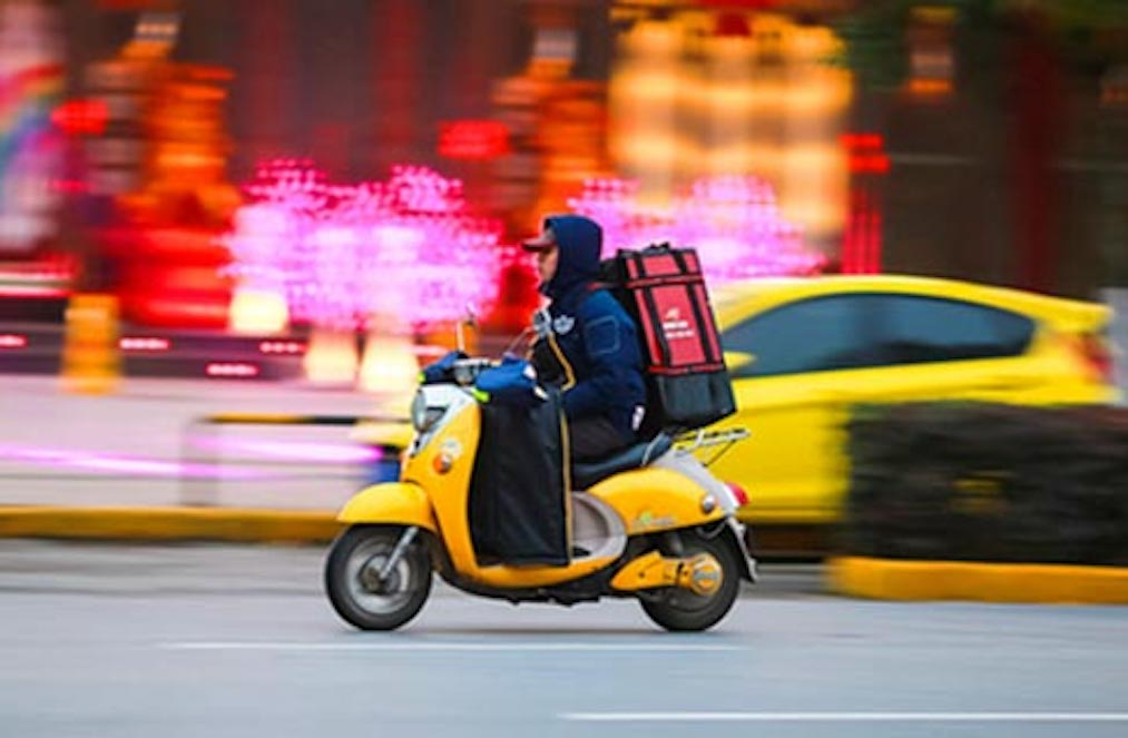1,280 Food Delivery Drivers Suspended in Shenzhen