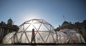 Art Installation Gives Londoners a Taste of Beijing Air