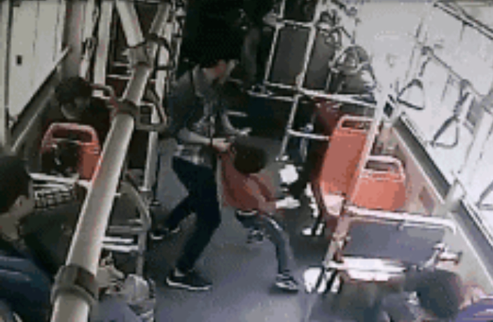 Man Viciously Slams 7-Year-Old Boy on Sichuan Bus Then Stomps on His Head