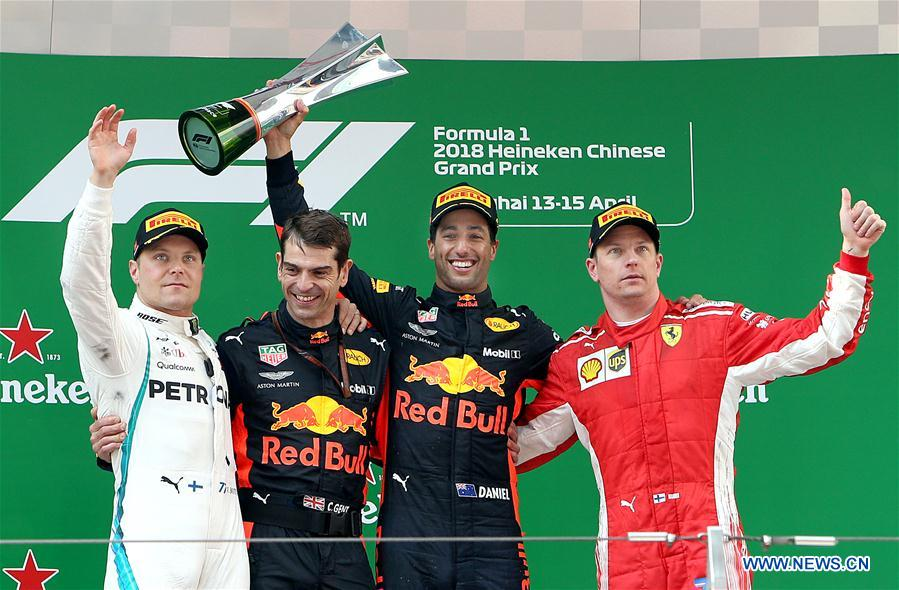 PHOTOS: 2018 Chinese Grand Prix F1 Championships