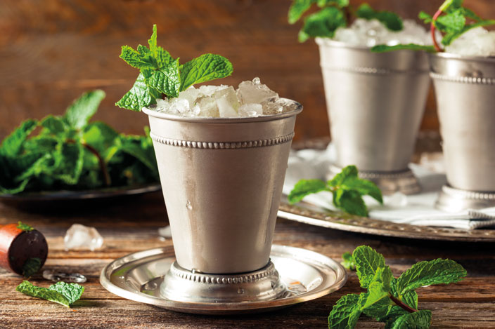 The Historical Roots of the Mighty Mint Julep