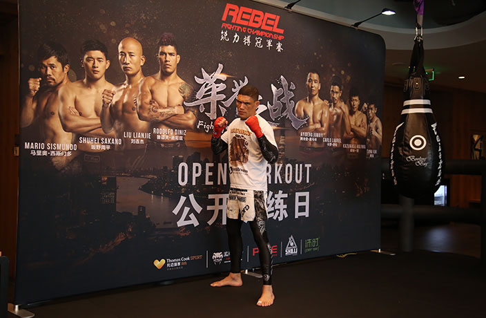 Rebel FC Fighters Impress MMA Fans During Open Training Day