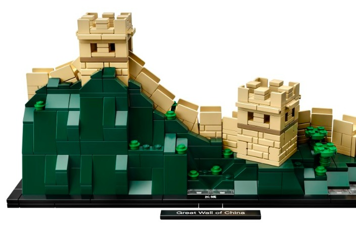 LEGO Releases Great Wall of China Set