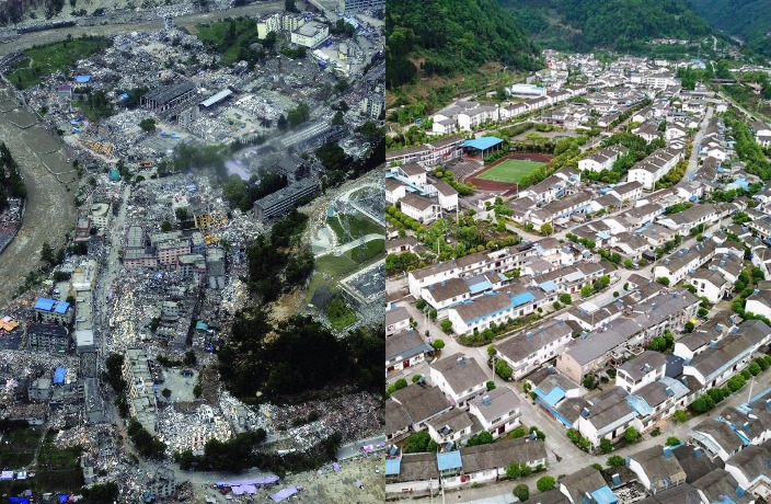 Here's What 2008 Sichuan Quake Sites Look Like 10 Years Later