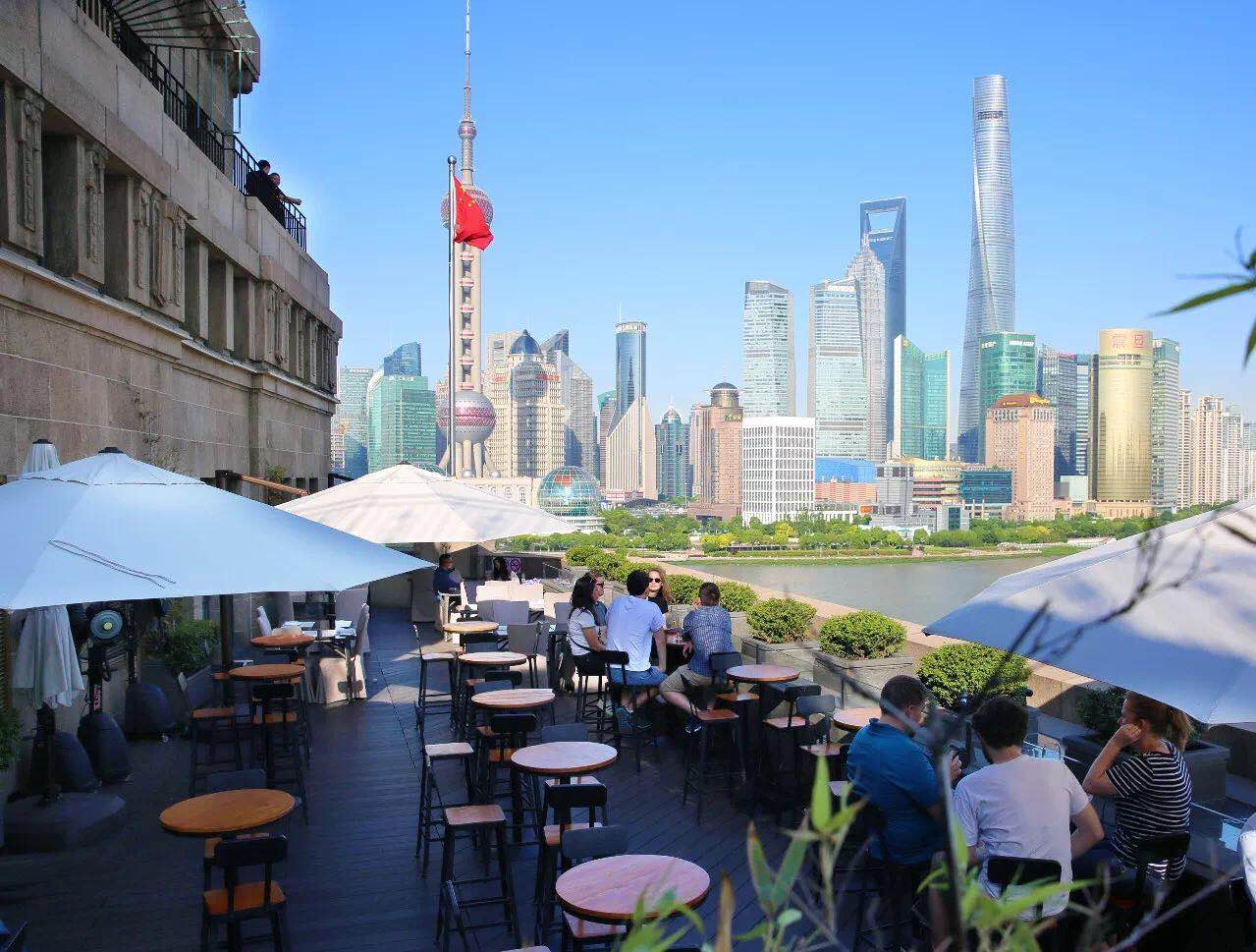 Shanghai's Top Al Fresco Restaurants & Terraces 2018