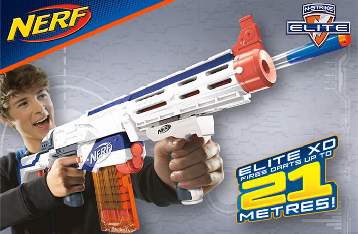 Your Kids Will Love These Fun NERF Toys, On Sale Right Now