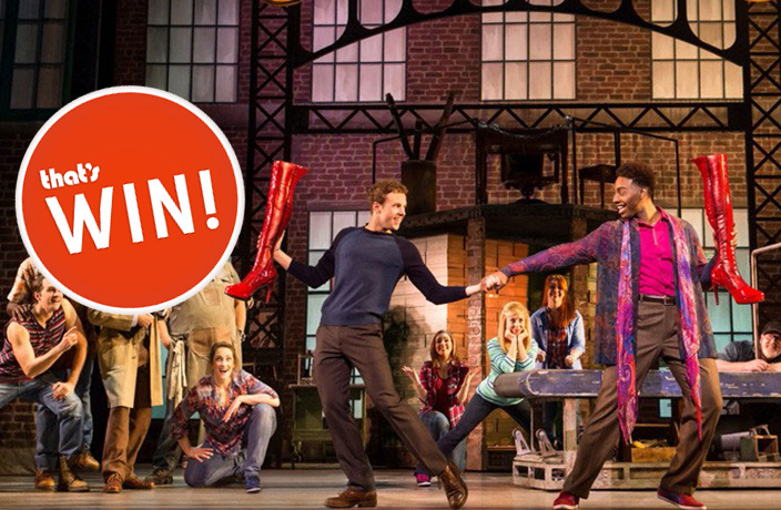 WIN! Pair of Tickets to Hit Broadway Musical 'Kinky Boots'