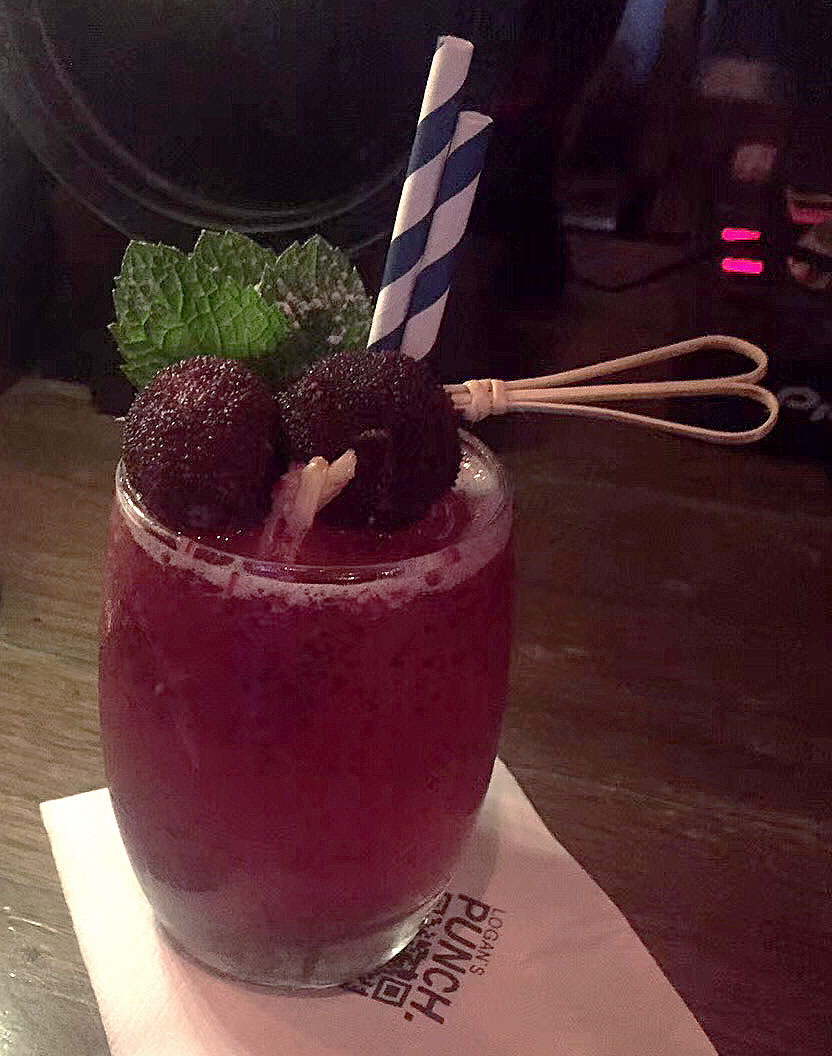 Yangmei Cocktail at Logan's Punch
