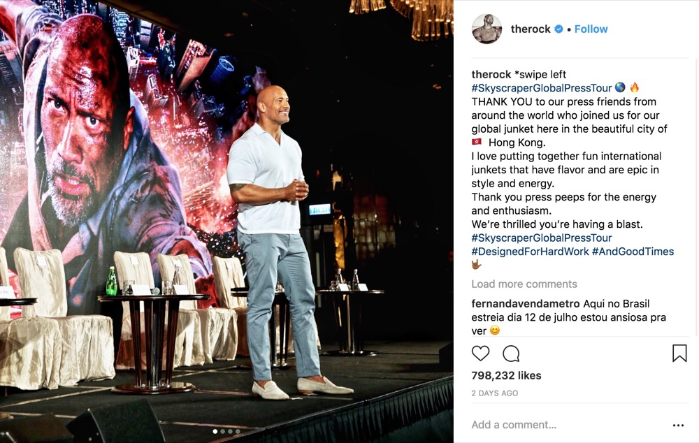 Dwayne 'The Rock' Johnson Will Not Run for President in 2020