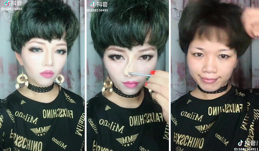 Another Weird Make-up Trend Sweeps Across the Middle Kingdom