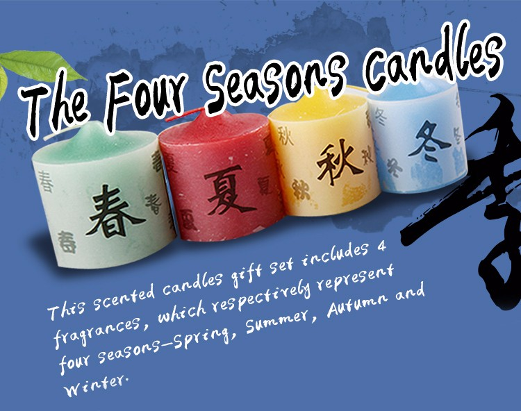 Four Seasons Candles