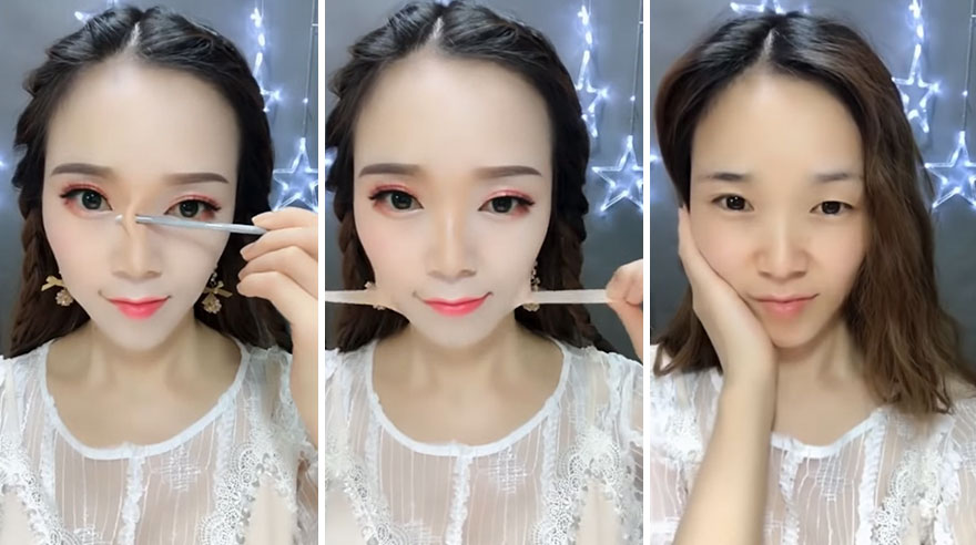 Makeup Removal Challenge is China's Latest Viral Video Craze