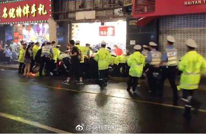 2 Held as Authorities Investigate Deadly Nanjing Lu Falling Sign