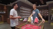 WATCH: Cristiano Ronaldo Goes 'Sneaker Shopping' in Beijing