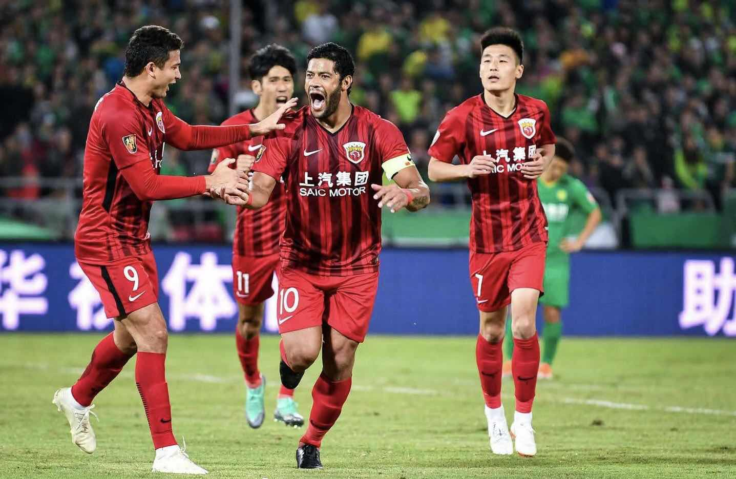 WATCH: Shanghai SIPG Beat Beijing to Stay Clear at Top of CSL