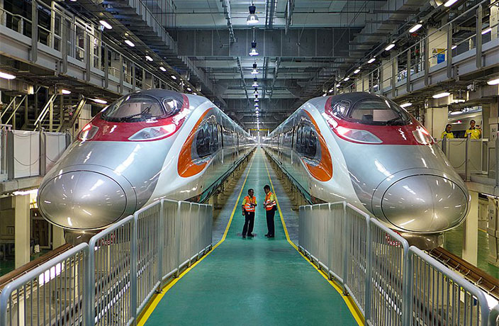 Tickets Now on Sale for High-Speed Train to Hong Kong