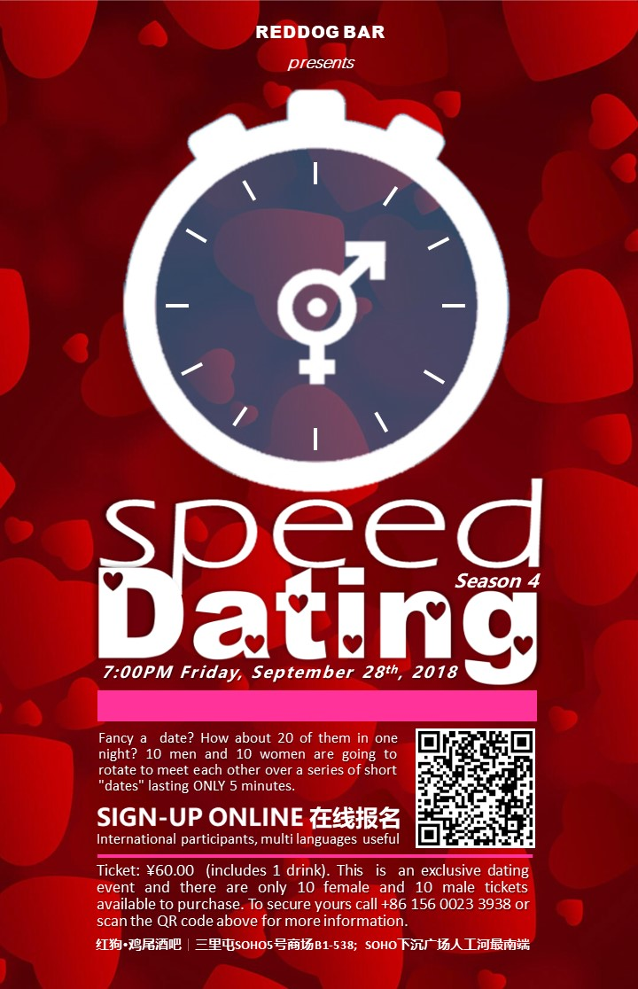 5 minute speed dating