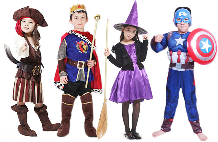 Get Your Kids Trick-Or-Treat Ready With These Halloween Costumes