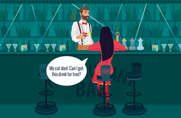 5 Things Not to Say to Your Bartender