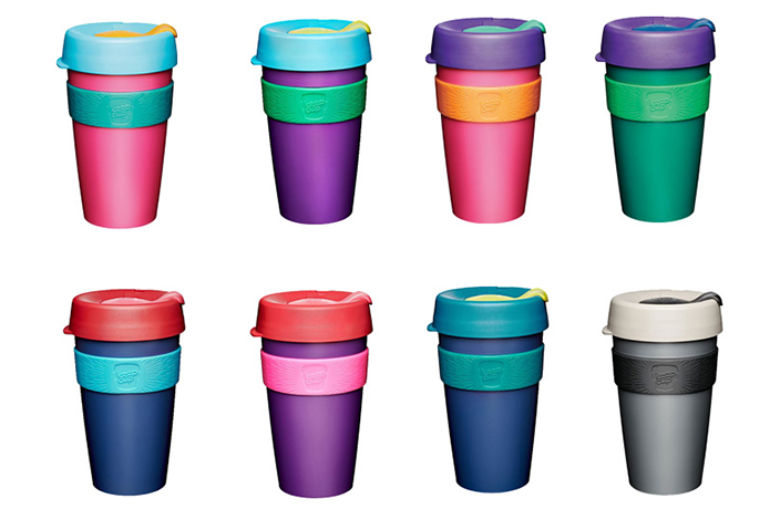 These Eco-Friendly Reusable Coffee Cups Are 20% Off Right Now