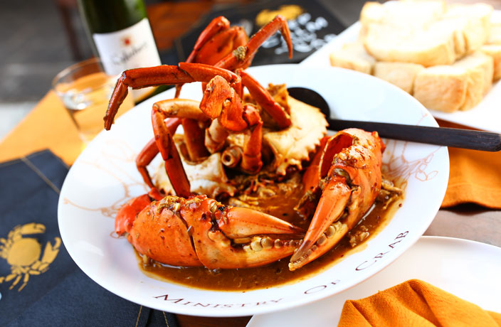 Shanghai Restaurant Review: Ministry of Crab