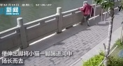 WATCH: Man Kicks Cat into River in South China