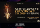 New Year's Eve Celebration at The Terrace Restaurant & Bar