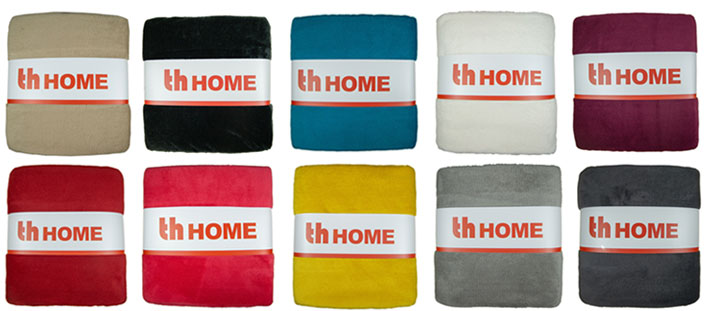 thHome Coral Fleece Blankets