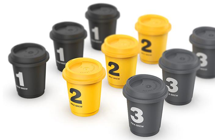 Mini Instant Coffee Cups