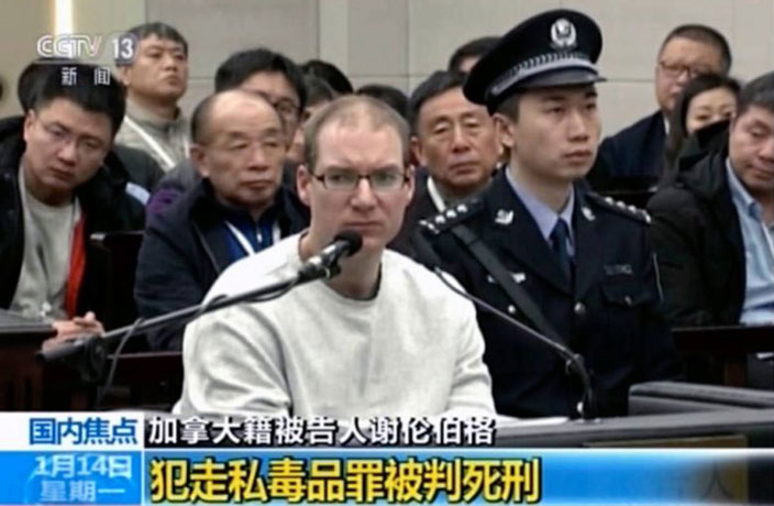 Canadian Sentenced to Death in China Has History of Drug Trafficking
