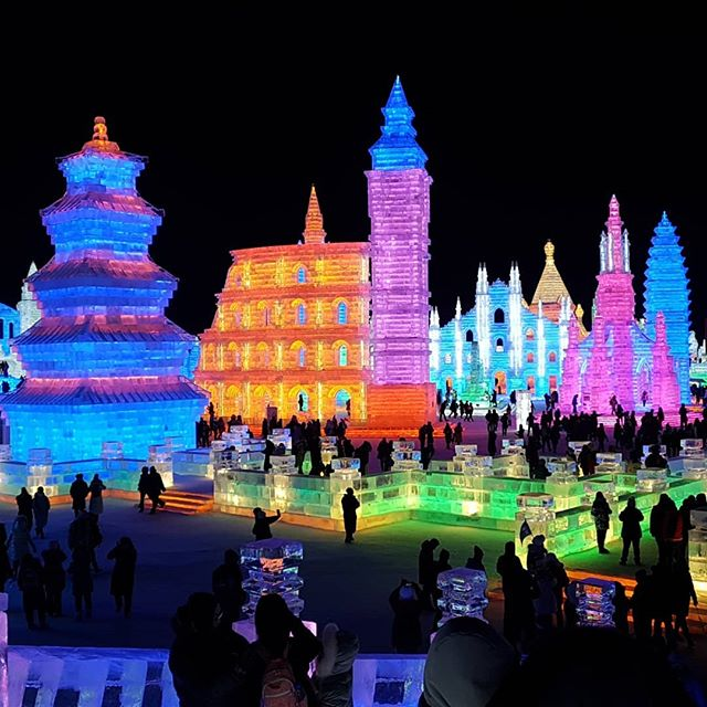 Snow and Ice World Harbin