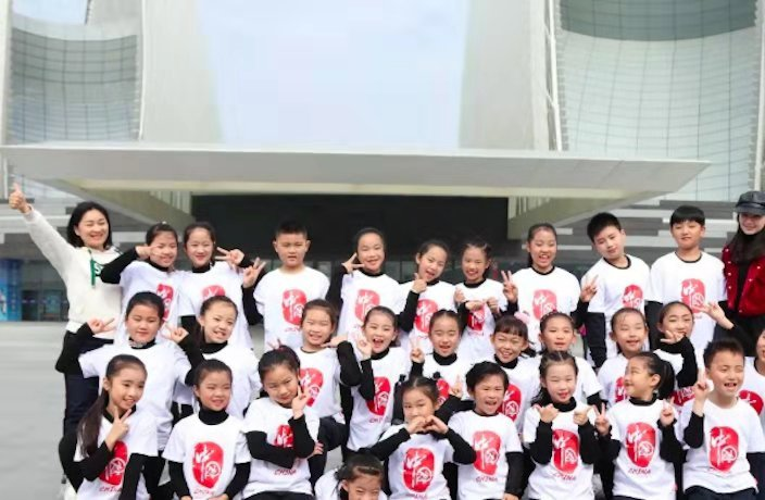 WATCH: Zhuhai Kids Choir Praises Huawei in New Song