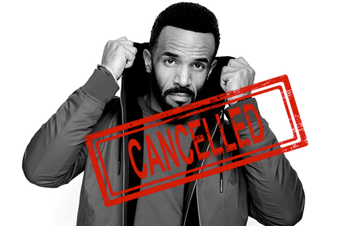Update: Craig David's Shanghai and Beijing Shows Canceled