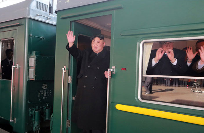 Kim Jong-un Takes 60-Hour Train Through China for 2nd Summit with Trump