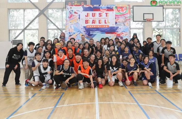 Adriana Hosts Yet Another Fun All-Girls Basketball Tournament