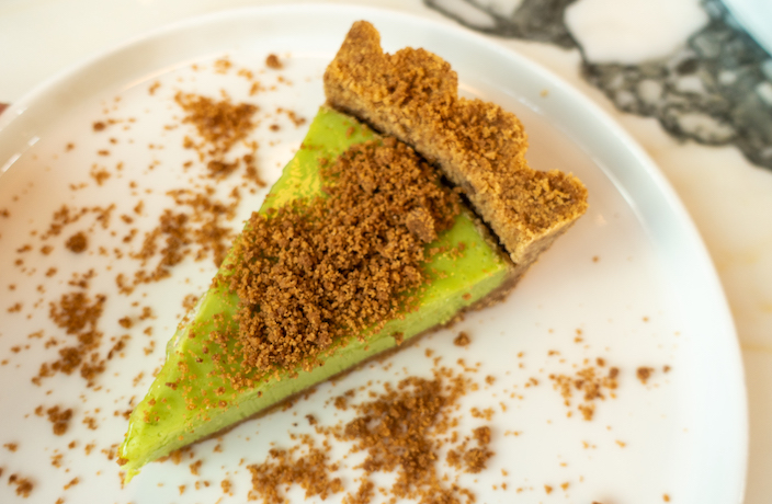 PS Cafe key lime pie