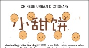 Chinese Urban Dictionary: Xiaotianbing