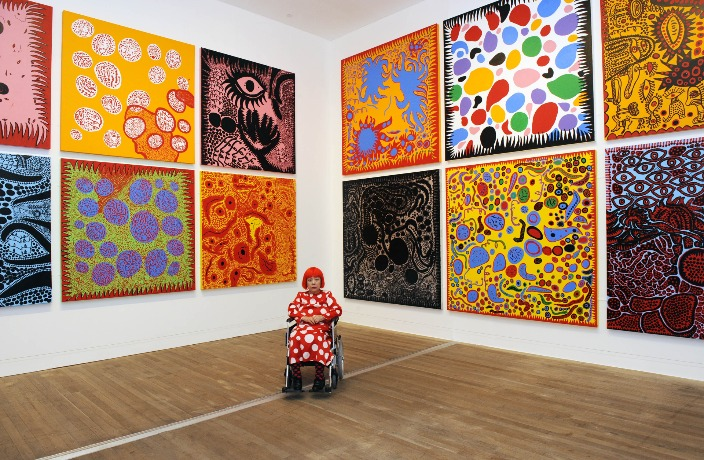 Polka Dot Princess Yayoi Kusama on Her Shanghai Show and Seeing Circles