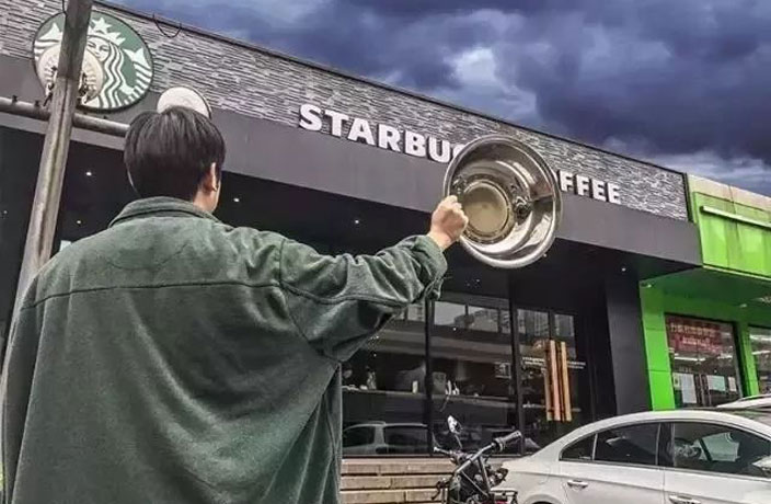 Starbucks Offers Free Coffee, China Turns Up With Huge 'Cups'... Again