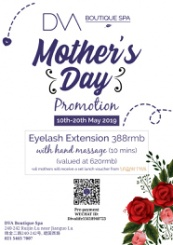 Eyelash Extension Promotion for Mother's Day