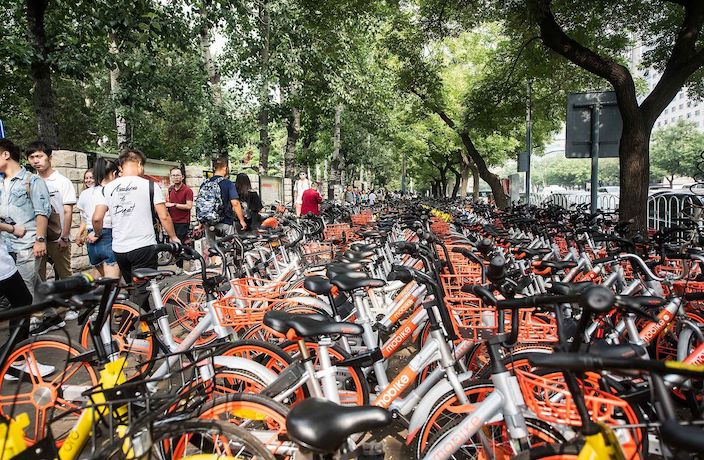 Over 6,000 Shared-Bike Parking Zones Coming to Beijing