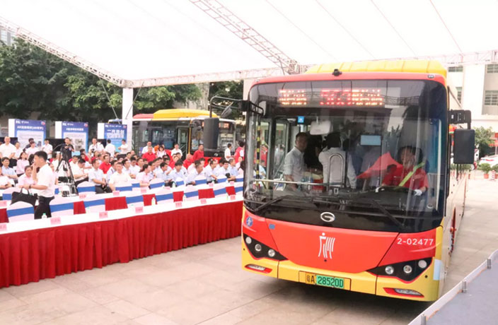 You Can Now Enjoy 5G Mobile Coverage on this Guangzhou Bus Route
