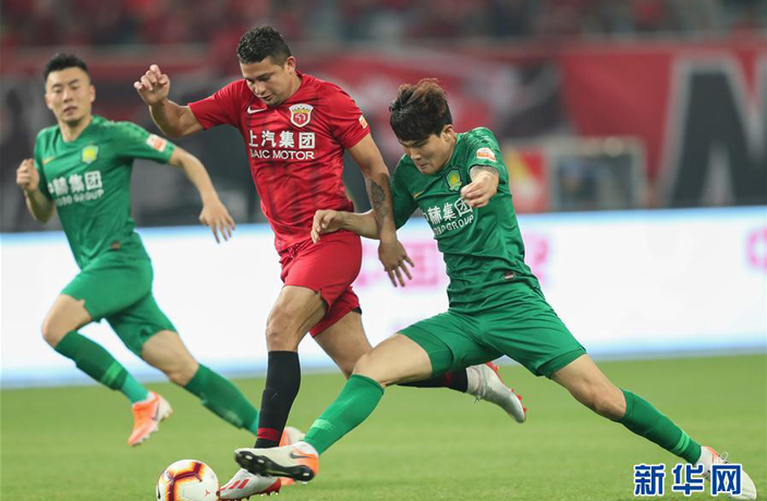 WATCH: Beijing's 100% Record Ended in Shanghai SIPG Thriller