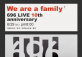 We are a family ! 696 LIVE 10 Year Anniversary