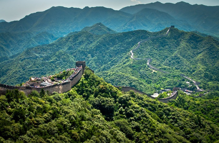 Great Wall Sets Cap on Daily Visitors