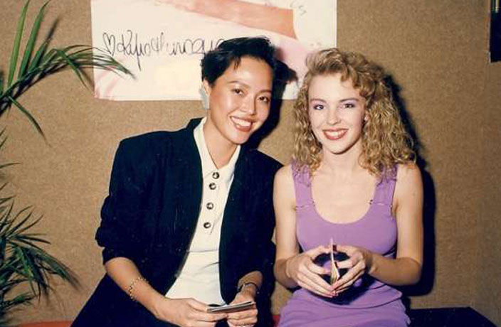 WATCH: Kylie Minogue's First Live Performance was in Hong Kong