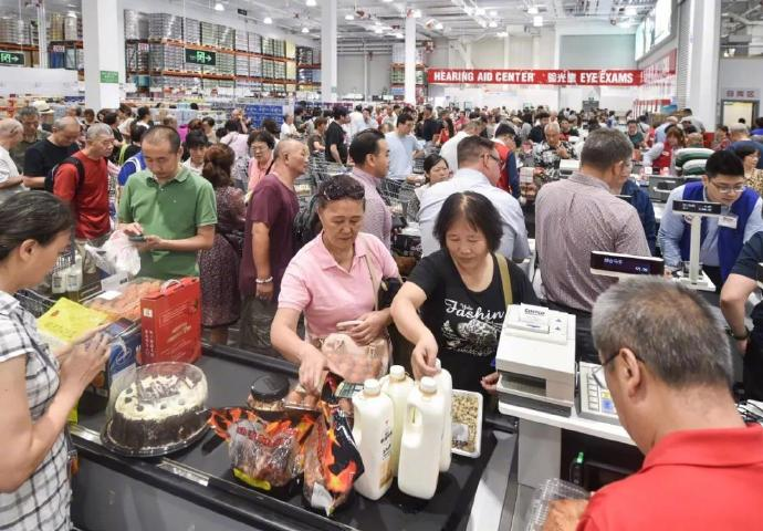 China's First Costco Closes On Opening Day Due to Massive Crowds