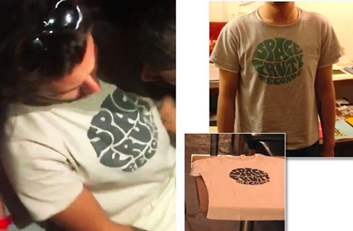 Harry Styles Spotted In Beijing Record Label T-Shirt